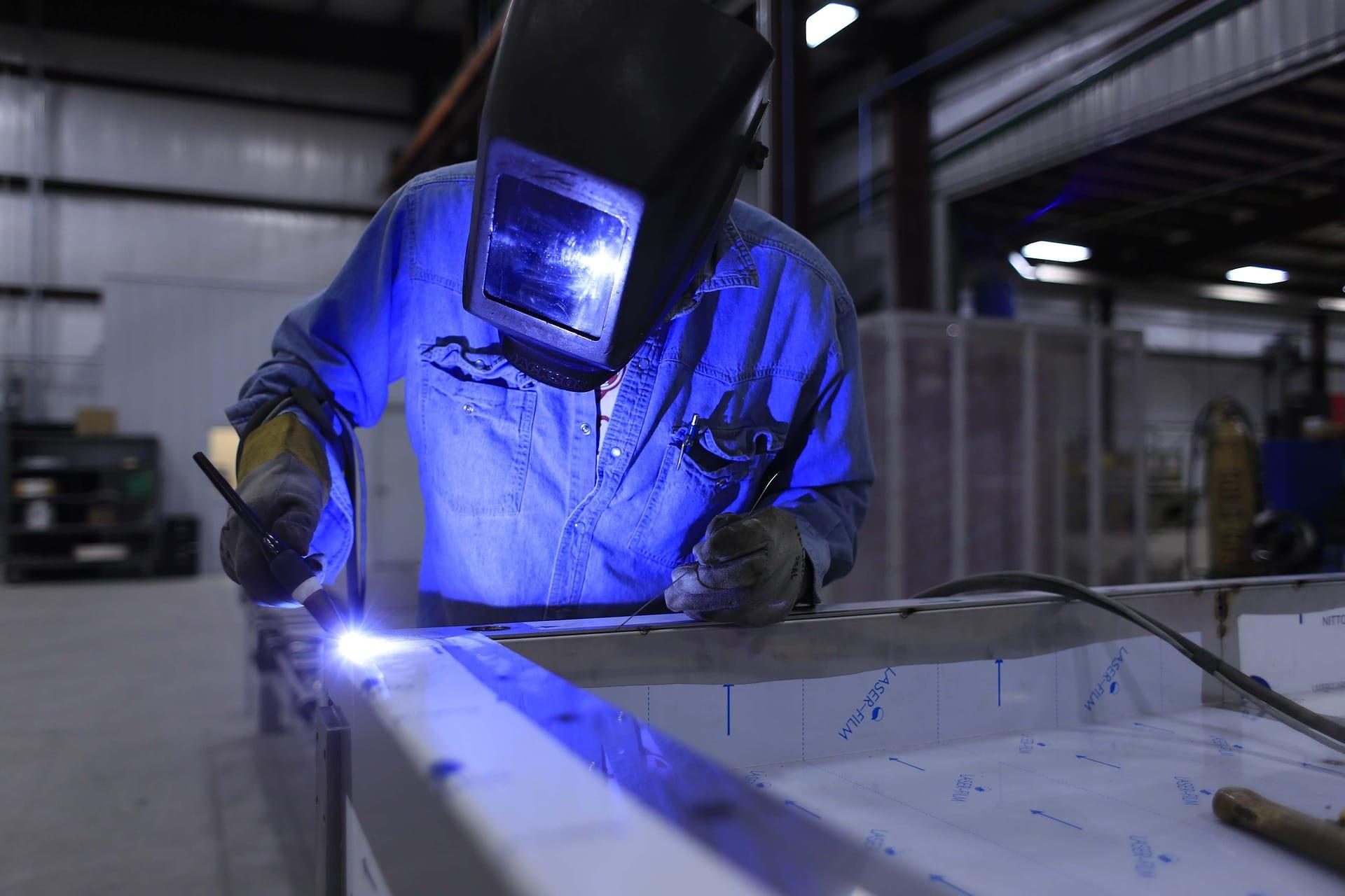 Stahlbau schweißen