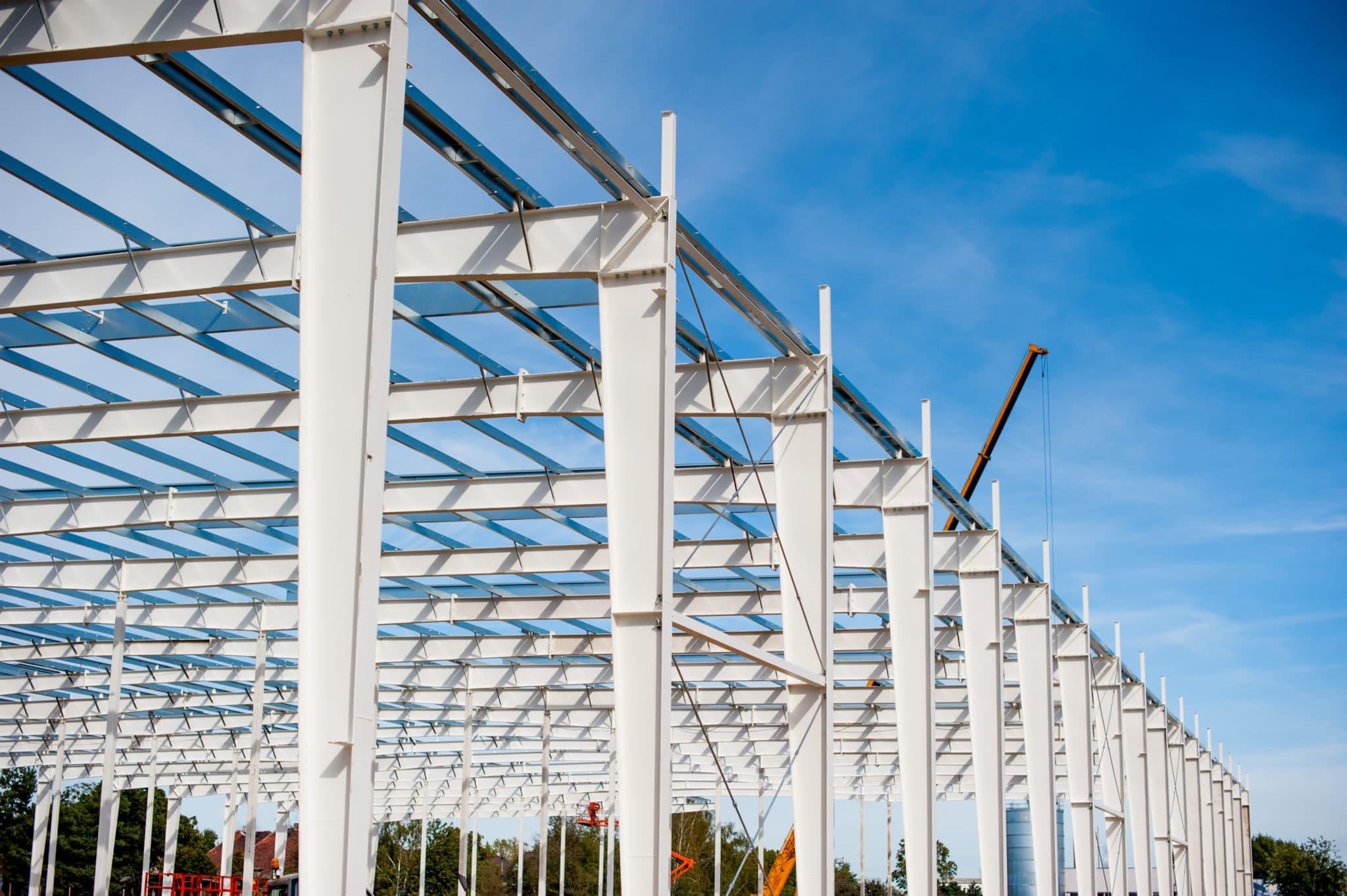 Stahlbau Hallenbau