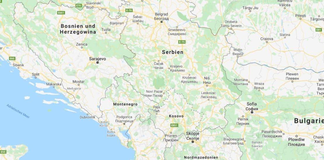 Balkan Lieferanten